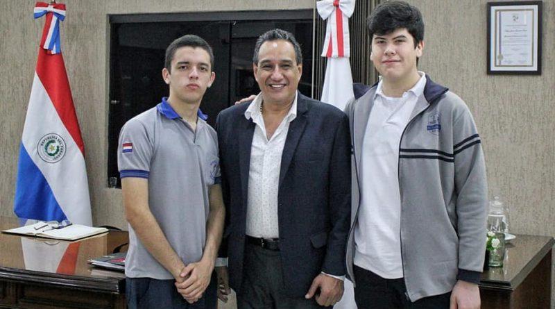 """Felicitaciones a los alumnos del Colegio Técnico Departamental Municipal """"Dr. Eusebio Ayala"""" de Villeta"""