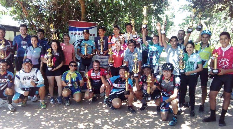 La Gobernación de central a través de su dirección de deportes dio apoyo a la competencia de ciclismo