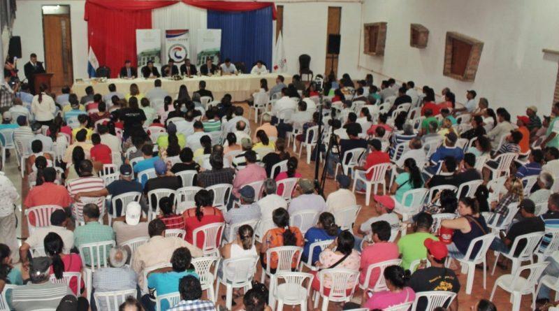 Gran demostración de participación ciudadana en Central.