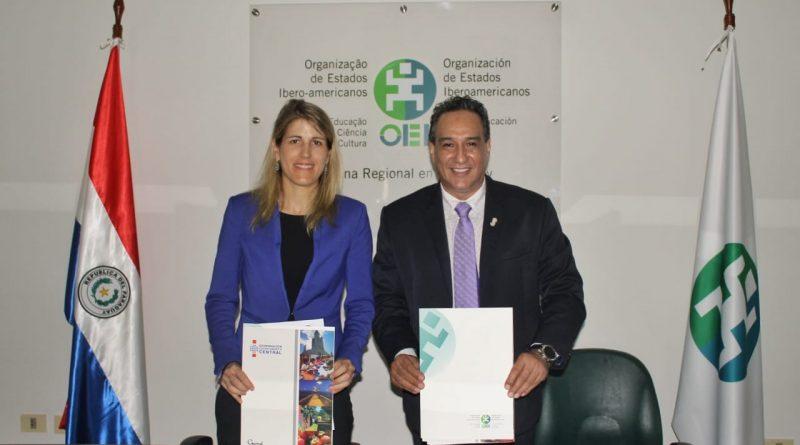 Gobernación de Central y la OEI firman Convenio de cooperación