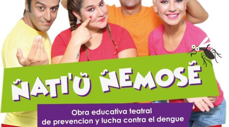 Ñati´u Ñemose, obra teatral educativa de prevención y lucha contra el dengue