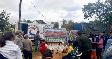 Continua asistencia de la Gobernación de Central  a damnificados por inundaciones