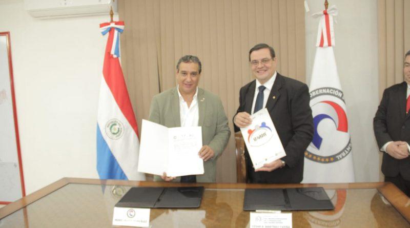 Gobernación de Central y SENADIS firmaron acuerdo para afianzar  el acceso de las personas con discapacidad