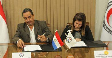 Se realizó la firma de convenio marco entre la Gobernación de Central y la Fundación Botón Amarillo