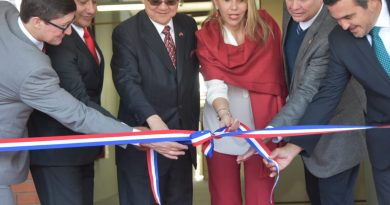 Gobernador de Central acompañó la inauguración de laboratorios de la  Universidad Politécnica Taiwán-Paraguay
