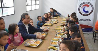 Gobernación de Central inauguró comedores en instituciones donde brinda almuerzo escolar