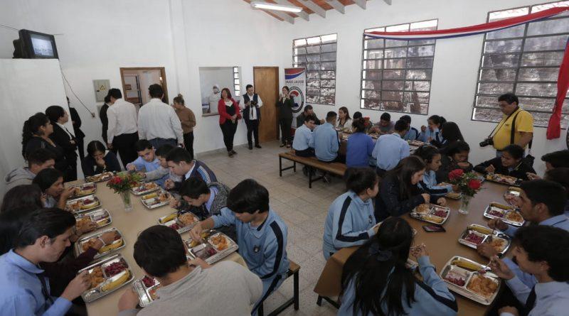 Inauguraron Bloque de Cocina Comedor en CEDM Juan Pablo II de San Antonio