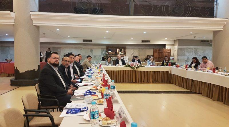 La Gobernación de Central estuvo presente en el Primer Encuentro Nacional de Gestión de Riesgos
