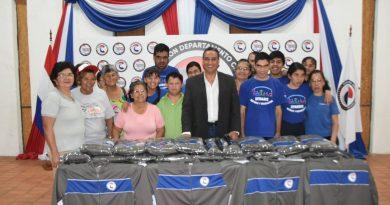 Entregan donación a atletas para los Juego Regionales – Unificados Capital 2019