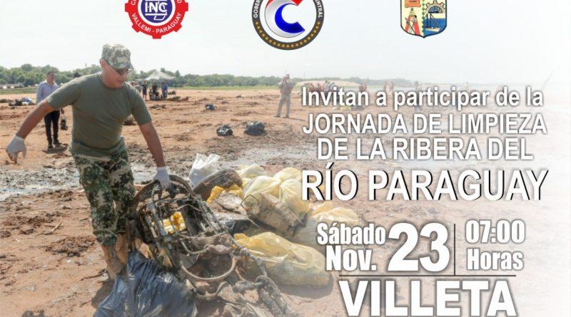 Uníte a la Jornada de limpieza de la Rivera del Río en Villeta, este 23 de noviembre