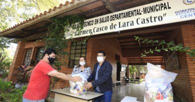 En la jornada de hoy, la Gobernación del Departamento Central, dio continuidad a la distribución de kits de alimentos
