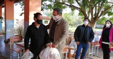 Nos sensibilizamos en esta pandemia asistiendo a las familias más vulnerables del departamento central.