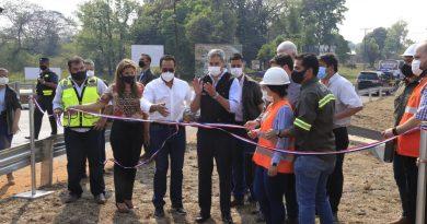 Inauguración de Obras de Drenaje en el Km 32 Ruta N° 1 Mariscal Francisco Solano López, Ciudad de Itá