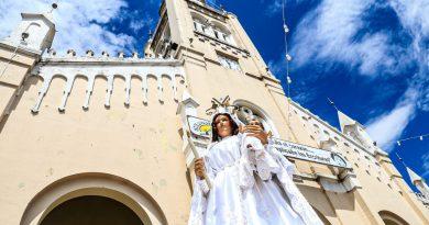Participamos con devoción del primer día del novenario en homenaje a Nuestra Señora de la Candelaria, Santa Patrona de Areguá.